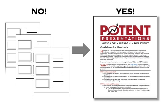 Potent Presentations Initiative  P2i  U0026 39 S Guidelines For
