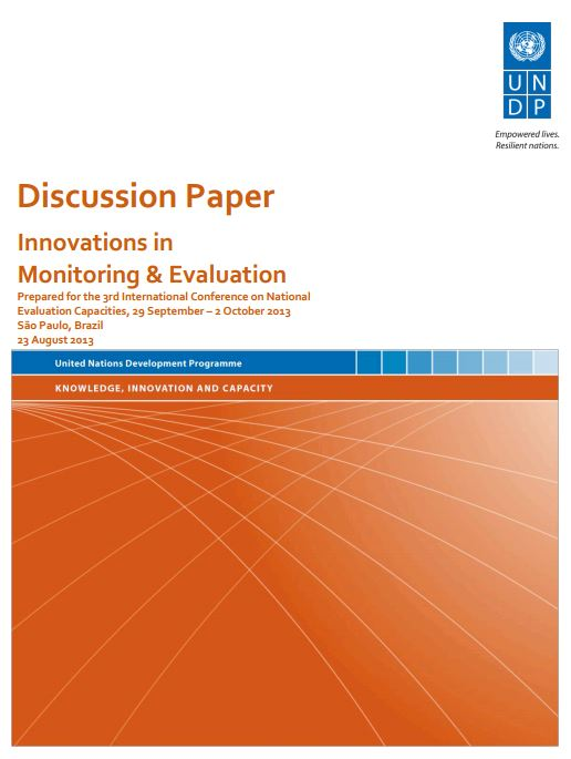 handbook for planning monitoring and evaluation undp