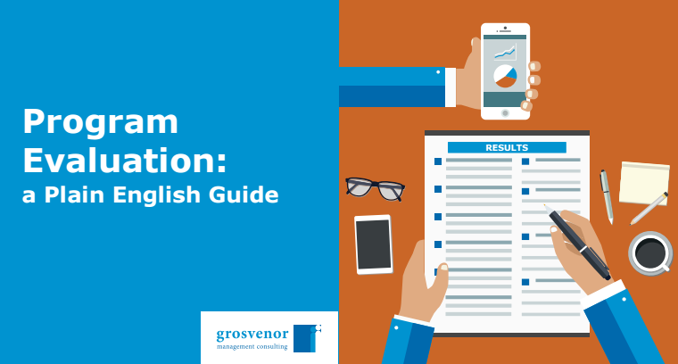 program evaluation a plain english guide