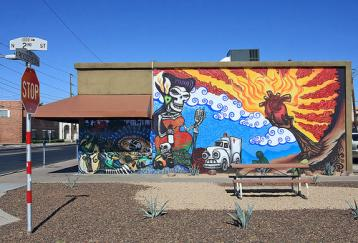 Mural by Lalo Cota photo by Cobolt123