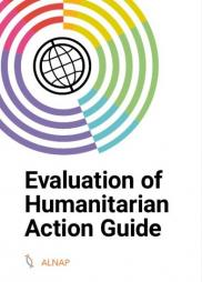 ALNAP (2016) Evaluation of Humanitarian Action Guide. ALNAP Guide. London: ALNAP/ODI