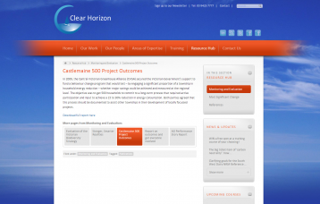Clear Horizon Consulting and Brown, Geoff (2006) Castelmaine 500 Project Outcomes,Clear Horizon and Central Victorian Greenhouse Alliance. Retrieved fromhttp://clearhorizon.com.au/resource-hub/monitoring-and-evaluation/castlemaine-500-project-outcomes/