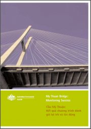 Australian Agency for International Development, Ausaid (2003)My Thuan Bridge: Monitoring Success,Commonwealth Government of Australia, Canberra.Retrieved from:https://web.archive.org/web/20140212122836/http://aid.dfat.gov.au/Publications/Documents/my_thuan_monitoring_report.pdf(archived link)
