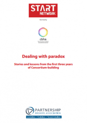 Tennyson, R. (2013). Dealing with Paradox – Stories and Lessons from the first three years of Consortium-building. The Partnership Brokers Association. Retrieved from: http://partnershipbrokers.org/w/wp-content/uploads/2016/03/Dealing-with-Paradox-sm.pdf