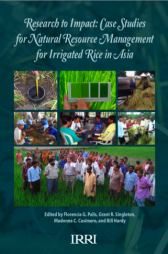 Palis FG, Singleton GR, Casimero MC, Hardy B, editors. 2010. Research to impact: case studies for natural resource management for irrigated rice in Asia. Los Baños (Philippines): International Rice Research Institute. Retrieved from http://books.irri.org/9789712202599_content.pdf