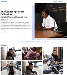 Broadly. (n.d.). The Gender Spectrum Collection: Stock Photos Beyond the Binary. Retrieved from: https://broadlygenderphotos.vice.com/