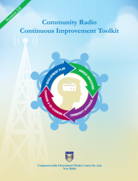 Pavarala, V., Malik, K.K., Belavadi, V., Deshbandhu, A. and Raghunath, P. (2014) The Community Radio Continuous Improvement Toolkit. Available at: http://uccommedia.in/wp-content/uploads/2015/10/CR-CIT-Version-2.0.pdf.  (Accessed: 16 February 2017).