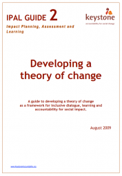 Keystone. (August 2009) Keystone Accountability's guide for Developing a Theory of Change. Available athttp://keystoneaccountability.org/wp-content/uploads/files/2%20Developing%20a%20theory%20of%20change.pdf.   (Accessed: 21 February 2017).