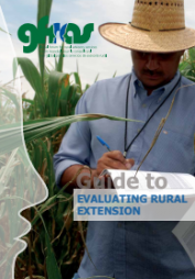 Christoplos I, Sandison P, Chipeta S. (2012). Guide to Evaluating Rural Extension.Global Forum for Rural Advisory Services (GFRAS), Lindau, Switzerland. Retrieved fromhttp://www.g-fras.org/en/101-guide-to-extension-evaluation  Global Forum for Rural Advisory Services (GFRAS)http://www.g-fras.org/en/