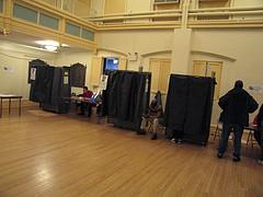Polling Booths, by PetroleumJelliffe on Flickr