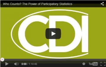 Holland, J. (2014, May).  'Who Counts? The Power of Participatory Statistics' [Workshop]. Institute of Development Studies. Retrieved from: http://www.ids.ac.uk/events/who-counts-the-power-of-participatory-statistics