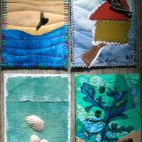 ATC beach 3 by Linda Frost