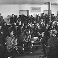 People on village meeting by public domain images